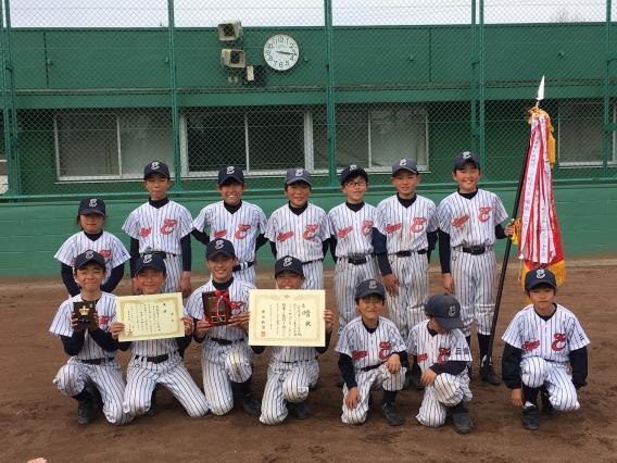 第28回東員町長旗ジュニア野球大会 優勝しました!!